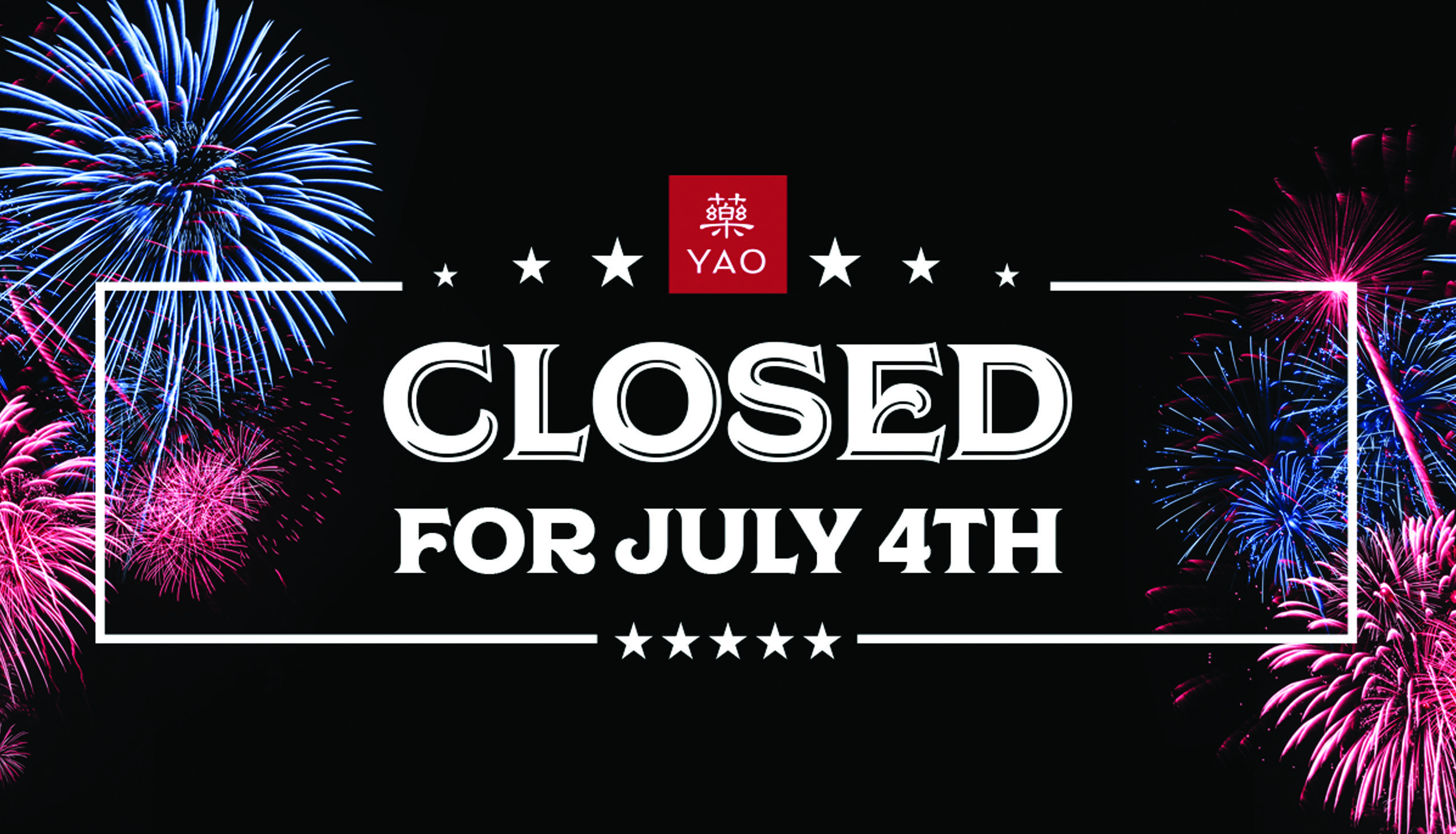 hero - Closed For The Fourth
